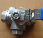 Three-way Ball Valve